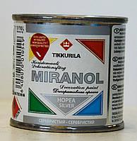 Декоративная краска Миранол, Tikkurila MIRANOL  Серебро 0,1л