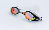 Очки для плавания SPEEDO MARINER MIRROR 809300 (черный)