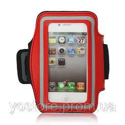 Неопреновый спортивный чехол на руку для Apple iPhone 4/4S (9090)