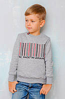 Патриотический свитшот для мальчика «Made in Ukraine»