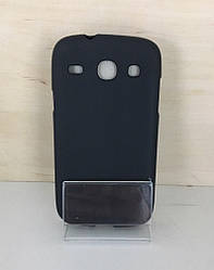 Силиконовый чехол-накладка для Samsung Galaxy J1 (J100) (Black)