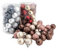 Елочная игрушка шарик 34 шт / упак, фото 1