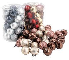 Елочная игрушка шарик 34 шт / упак