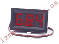 Цифровой вольтметр DC 4.5-120 В (красный)