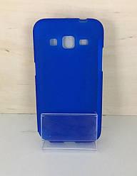 Силиконовый чехол-накладка для Samsung Galaxy J1 (J100) (Blue)