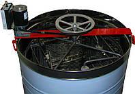 Медогонка 4-х рам Нержавеющая с ременным электроприводом, фото 1