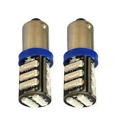 Светодиодная лампа T4W BA9S белый 7020 LED 11 SMD 7014/ 1Вт 12В