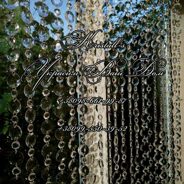 Шторы из бусин , люстры( фото выполненных работ) 43
