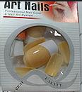 Ногти накладные цветные пакете, 10 шт (в ассортименте)