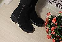 Ботинки на небольшом каблуке