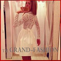Молочное гипюровое платье ♥ღ♥~BABYDOLL~♥ღ♥