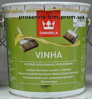 TIKKURILA VINHA Краска для деревянных фасадов Винха, База А, 2,7л