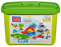 Конструктор Mega blоks Building Blocks Tub (100 деталей)