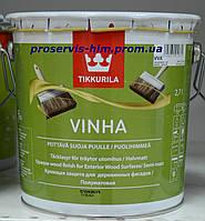TIKKURILA VINHA Краска для деревянных фасадов Винха, База C, 2,7л