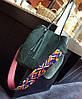 Стильный набор, сумка и клатч с красочным поясом, фото 5