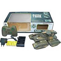 Танк Battle Tank на радиоуправлении, свет, звук на аккумуляторах