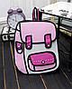 Мультяшные 2Д 2D рюкзаки, фото 2