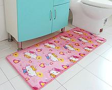 Флисовый коврик «Hello Kitty» 50×80 см розовый