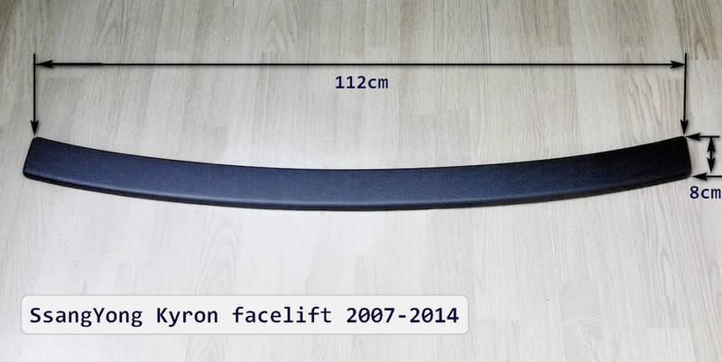 55002226 Rear bumper protector  SsangYong Kyron 2007- 2014