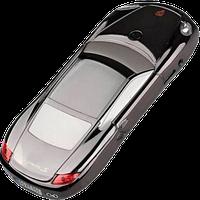 Китайский машинка-телефон Porsche F11 mini, 2 SIM, МP3, FM-радио. Металлический корпус!, фото 1