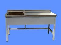 Стол производственный с ванной сварной СПВС