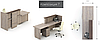 Стол руководителя Идеал I1.11.22 Венге (MConcept-ТМ), фото 6