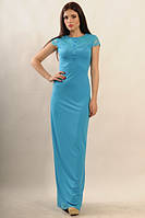 Платье вечернее Канны голубой