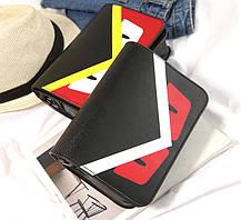 Стильная сумка почтальон со злыми глазками, птица, фото 2