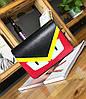 Стильная сумка почтальон со злыми глазками, птица, фото 3