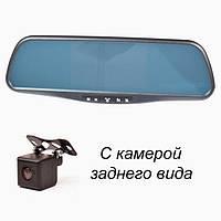 """Зеркало """"Prime-X"""" 043DK штатное со встроенным монитором и видеорегистратором (с креплением)"""