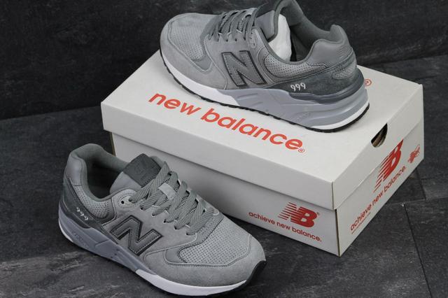 Кроссовки New Balance 999 мужские (серые) 4c186a8d809f2