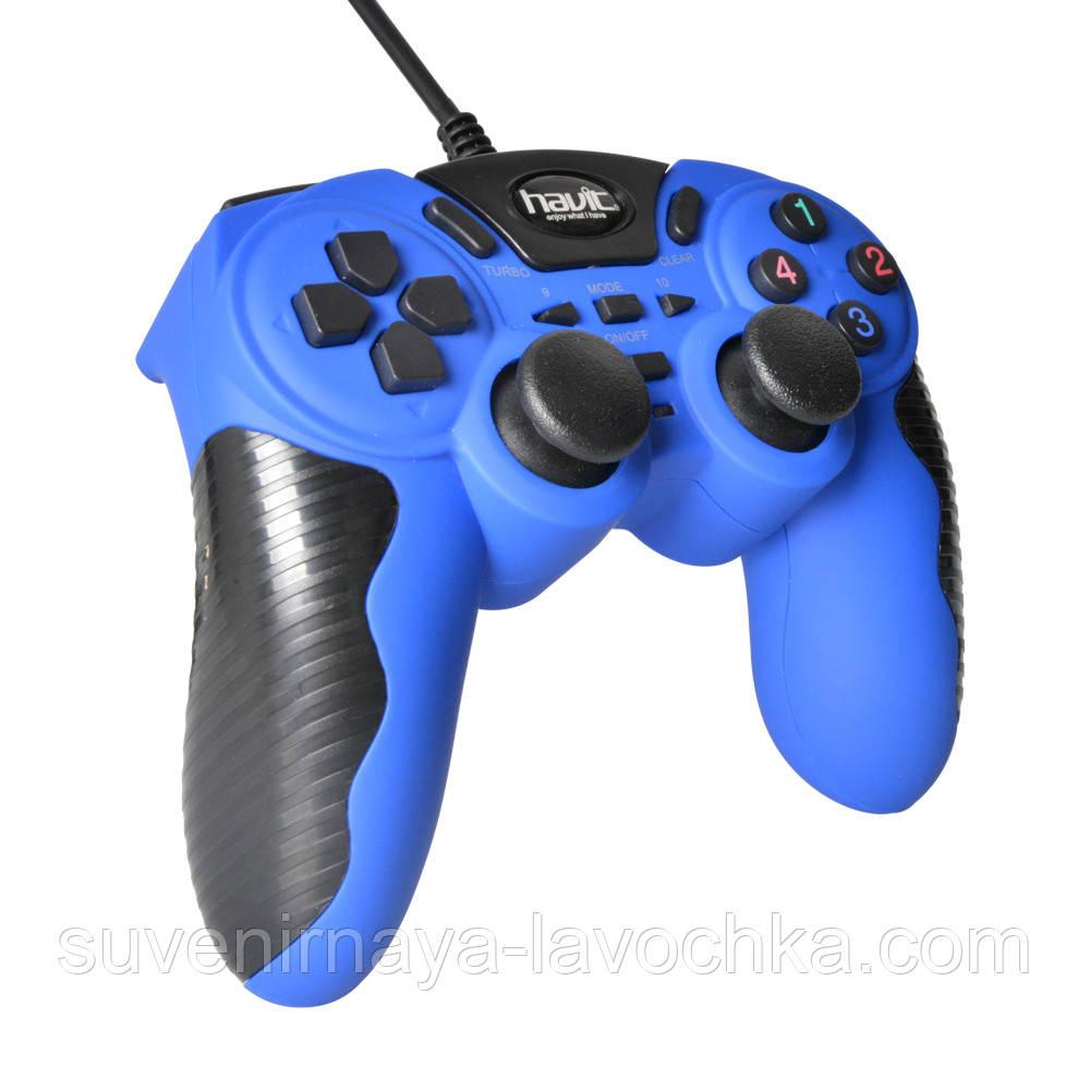Геймпад HAVIT HV-G82 Usb+PS2+PS3 Blue