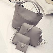 Модний повсякденний набір сумок 4в1, фото 3