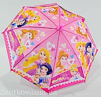 """Детский зонтик трость для девочек на 3-6 лет от фирмы """"Flagman"""""""