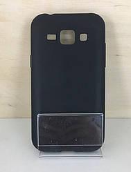 Пластиковый чехол HONOR Umatt Series для Samsung Galaxy J1 Ace (J110) (Black)