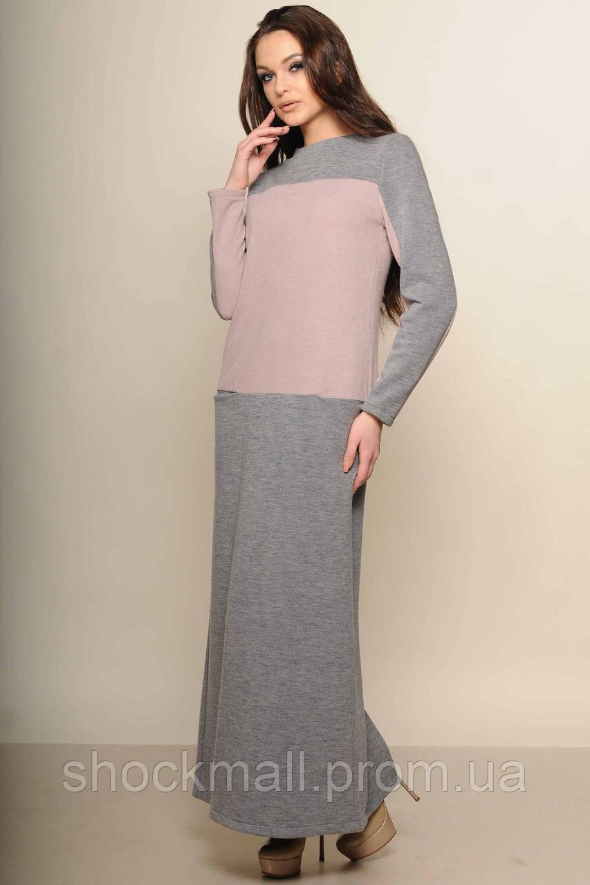 76539623e87 Купить Длинное шерстяное платье