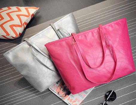 Стильна жіноча сумка шоппер, фото 2