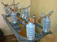 Разъединитель РЛНДз-10 IV/400 с полимерными изоляторами