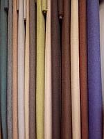 Однотонная шторная ткань лен/SOFT, разные цвета