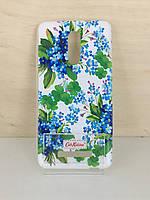 Силиконовый чехол-накладка Cath Kidston для Samsung Galaxy J1 Ace (J110) (Romantic)