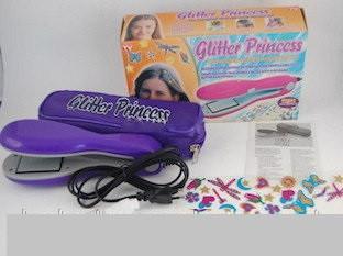 Стайлер для волос + украшения для волос Glitter Princess (плойка для волос)
