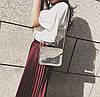 Женская сумка почтальон с блестками, фото 2