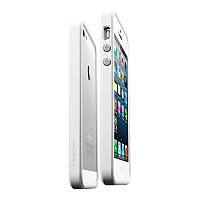 Чехол-бампер SGP Neo Hybrid EX Slim Snow for iPhone 5/5S Infinity White (SGP10032)