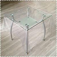 Прозрачная силиконовая скатерть (Жидкое стекло) 400 мкм НА МЕТРАЖ толщина 0,4мм