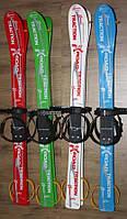 Лыжи с палками беговые X-Road 90см детские пластиковые
