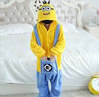 Пижама кигуруми для детей Миньйон