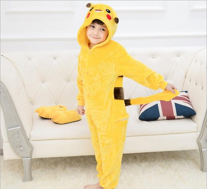 Пижама Кигуруми для Детей Пикачу — в Категории
