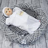 "Пеленка кокон на молнии ""ergo Cocoon Angel"" 0-4 мес. (белый)"