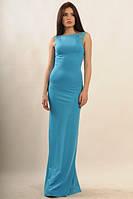 Платье вечернее Венеция голубой