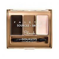 Bourjois Набор для моделирования бровей Brow Palette 4,5 g. № Blonde